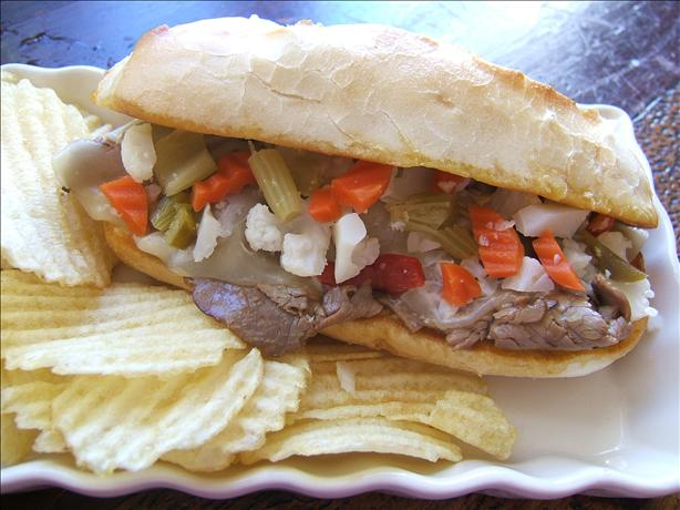 Chicago-italian Roast Beef Sandwich
