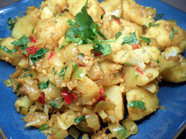 My Aloo Gobi - Curried Cauliflower and Potatoes