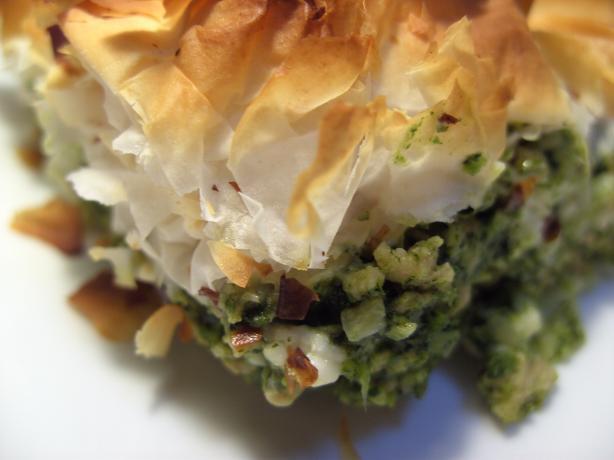 Spinach & Chicken Pie