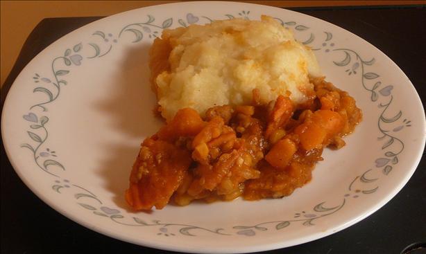 Chicken & Sweet Potato Pie