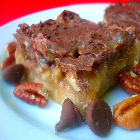 Caramel Butter-Pecan Bars