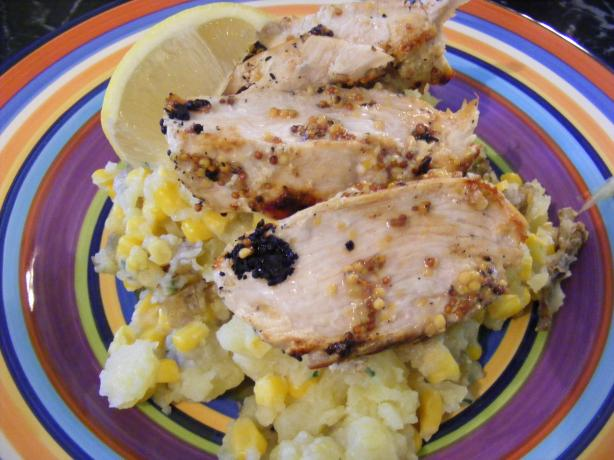 Mustard Chicken & Potato Smash (21 Day Wonder Diet: Day 15)