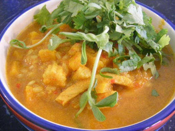 Chicken & Pumpkin Curry (21 Day Wonder Diet: Day 13)