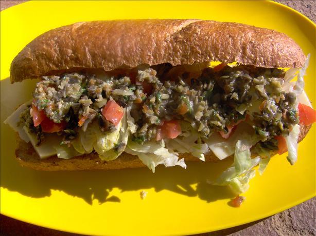 Vegetable Muffuletta