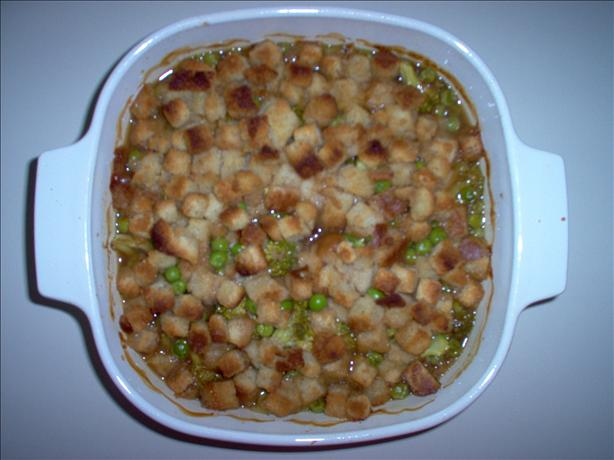 One Dish Chicken Bake with Vegetables #2