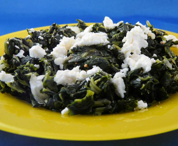 Greek Spinach