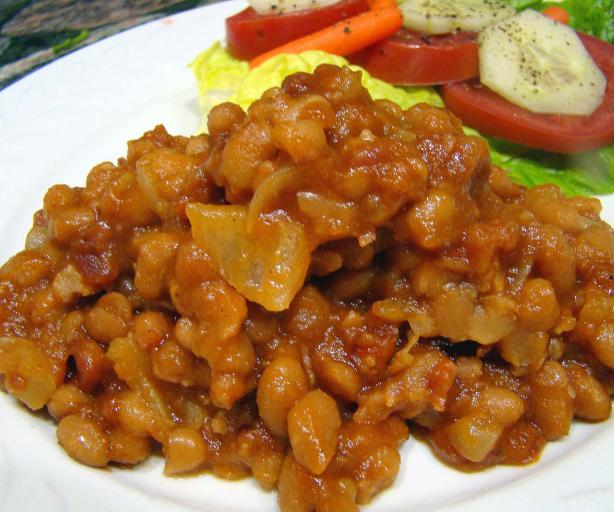 Quick 'N Easy Baked Beans