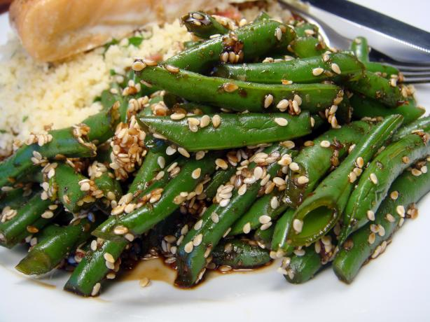 Goma-Ae Green Beans - Japanese Green Beans With Sesame Dressing