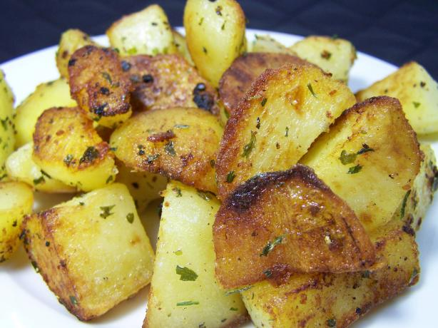 Yukon Gold Potatoes Sauteed in Clarified Butter