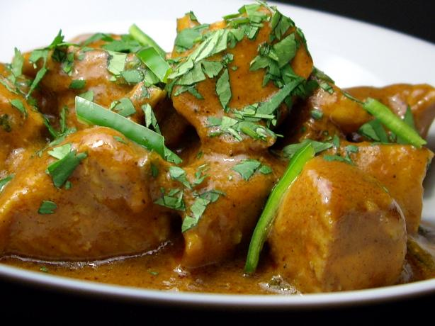 Sweet and Sour Chicken Curry