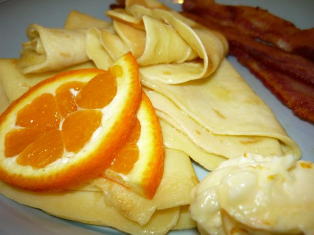 Kate's Easy Crepes Suzette