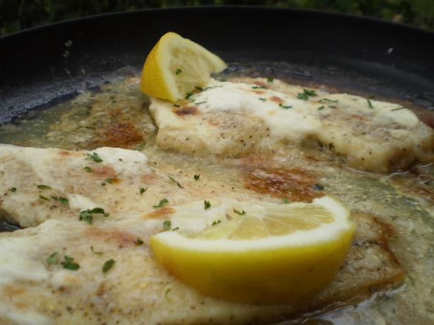 Steamed Fish With Sour Cream Sauce
