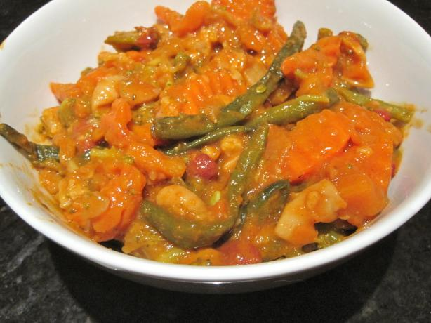 Thai Red Curry Mixed Vegetables