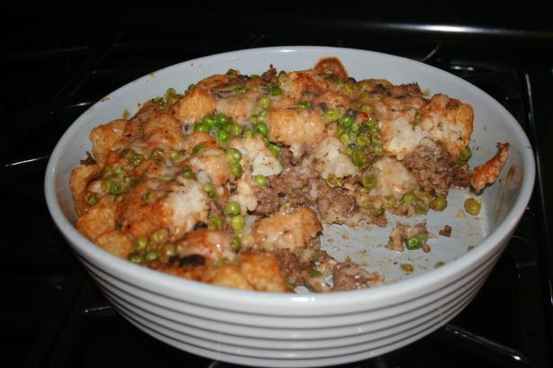 Tater Tots and Ground Beef Casserole