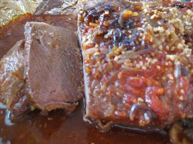 Annie's Sweet and Sour Baked Brisket