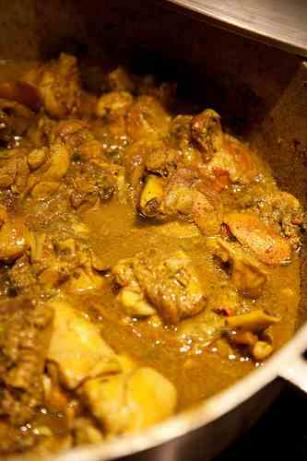 Curried Chicken (Trinidad Style)