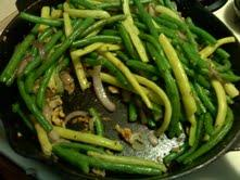 Fresh Green Beans with Garlic