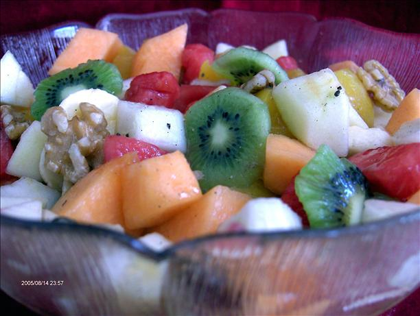 Summer Breakfast Fruit Salad