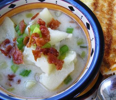 Potato & Bacon Soup - Weight Watchers (Ww)