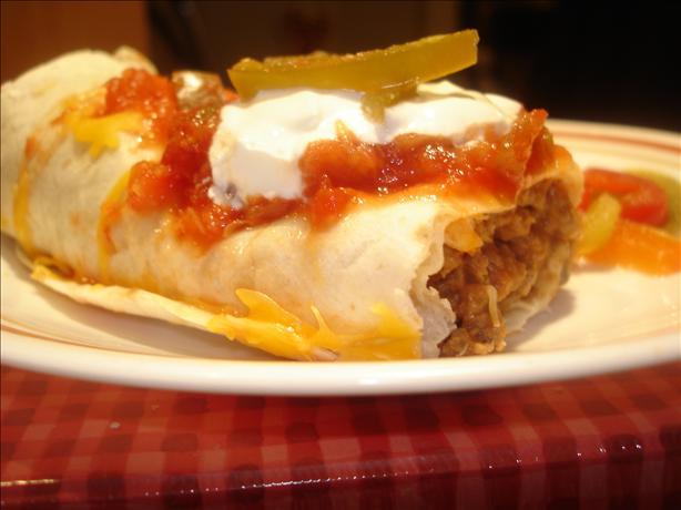 Shirl's Awesome Easy Burritos