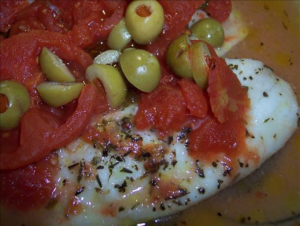 White Fish Provencal