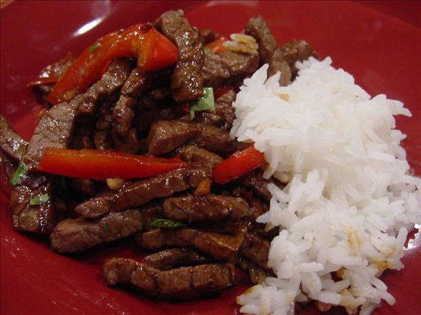 Ginger-Lime Beef Stir-Fry