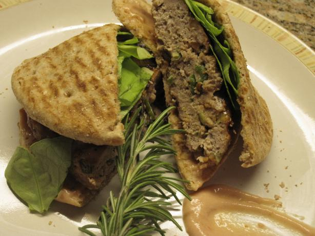 Sticky Soy and Maple Pork Burgers