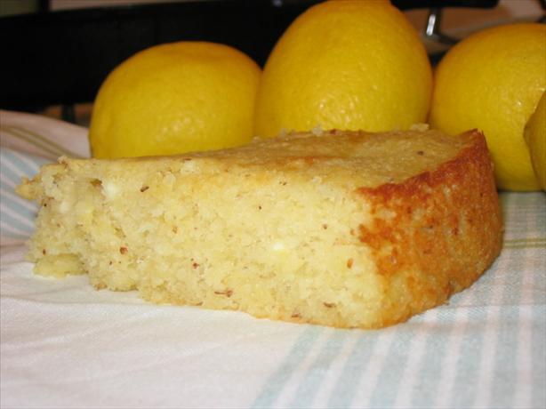 Lemon Ricotta-Almond Cake ( Gluten-Free )