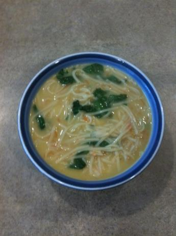 (My Own Lazy Day Recipe) Chicken Noodle Soup