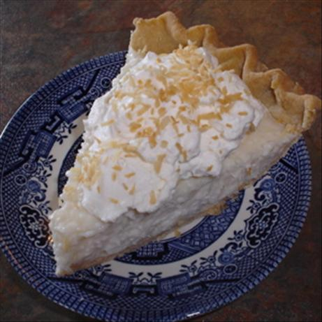 Sugar-Free Coconut Cream Pie (Diabetic)