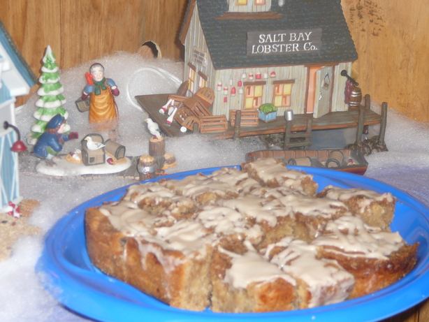 Grated Apple Cinnamon Cake