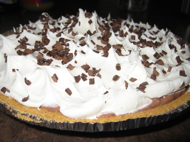 Chocolate Sour Cream Pie