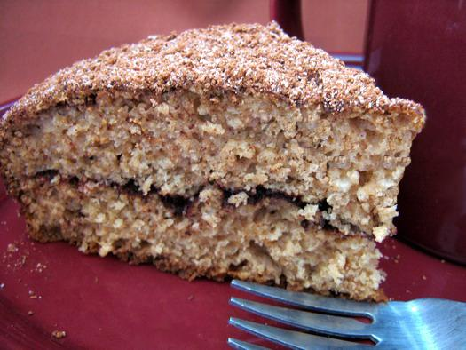 Yogurt Cinnamon Coffee Cake