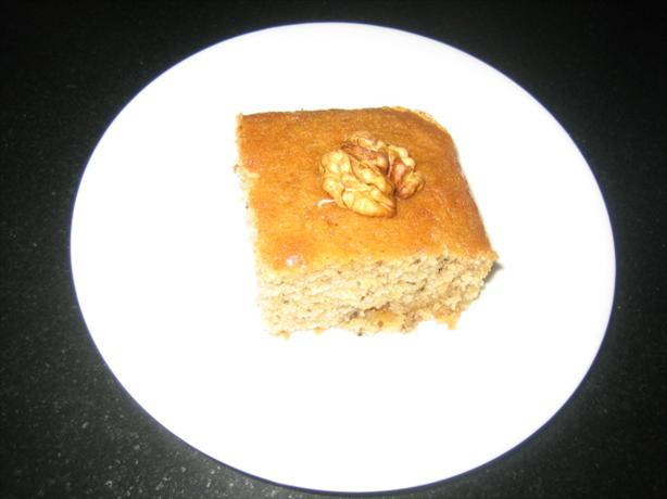Greek Honey Walnut Cake
