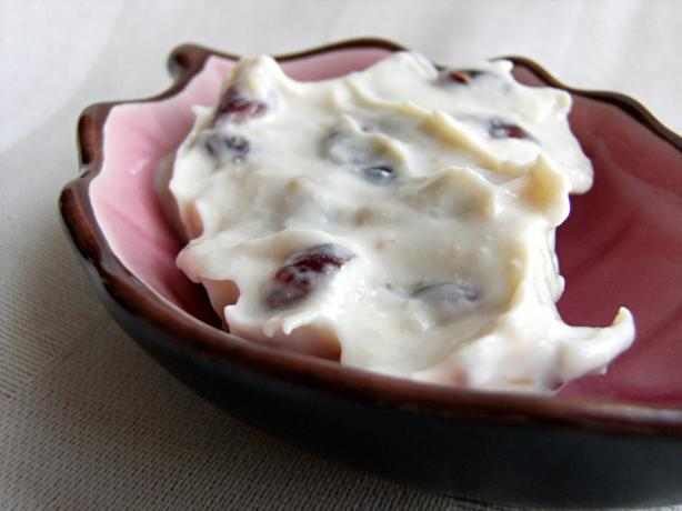 Roasted Garlic Cranberry Cream Cheese Spread