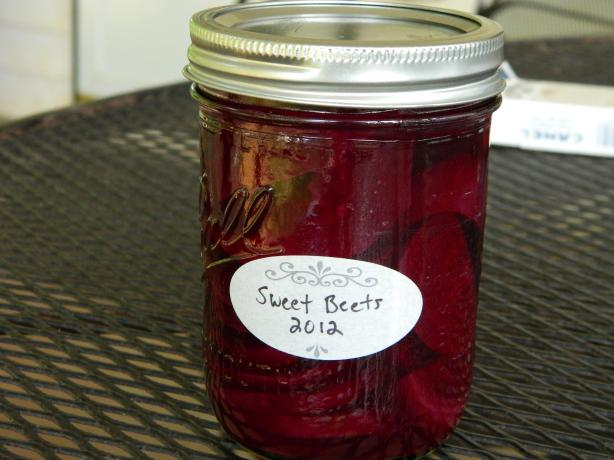 Pickled Beets (For Canning)