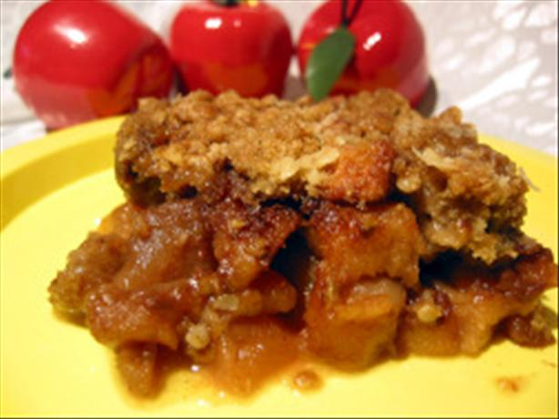 Easy Crunchy Apple Crisp