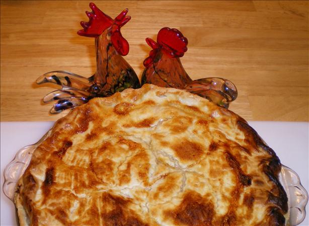 Julie's Deluxe Chicken Pot Pie