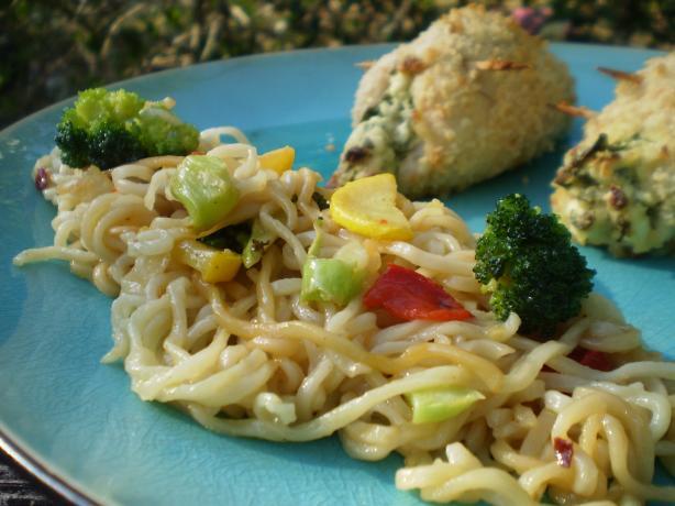 Ramen Noodle Stir-Fry Side Dish