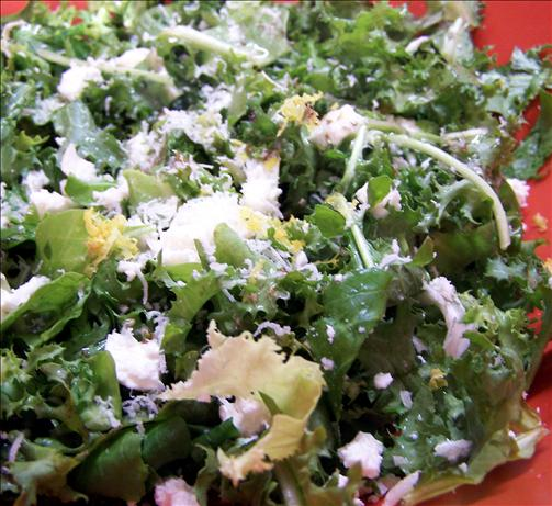 Cheese and Green Leafy Salads - Formally Known As Watercress And