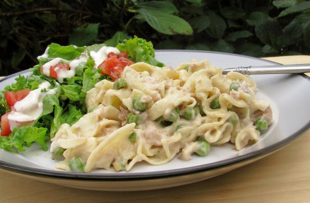Simple Tuna Noodle Casserole