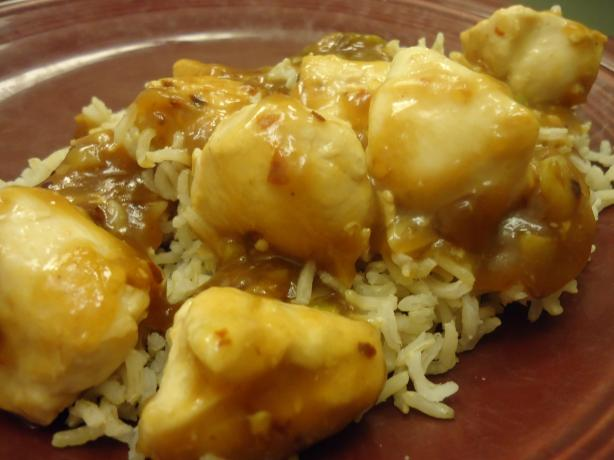 General Tso's Chicken With Rice