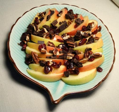 Apple-Chocolate Salad