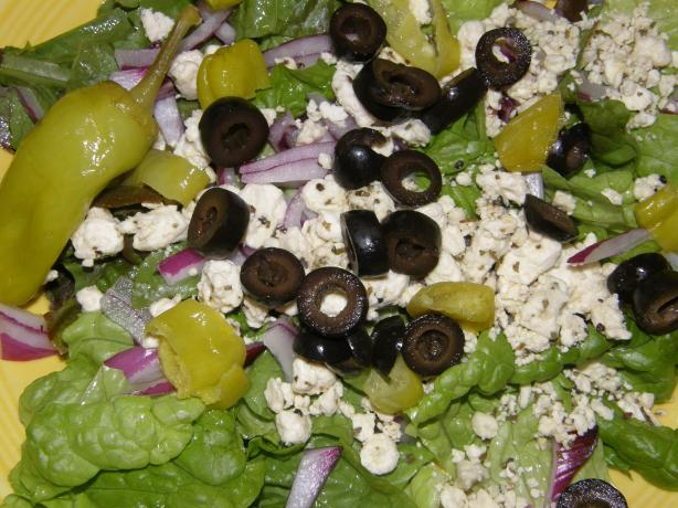 """chic to Be Greek"" Salad , from Salad Creations"