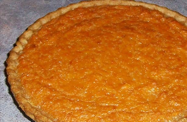 Drunken Sweet Potato Pie