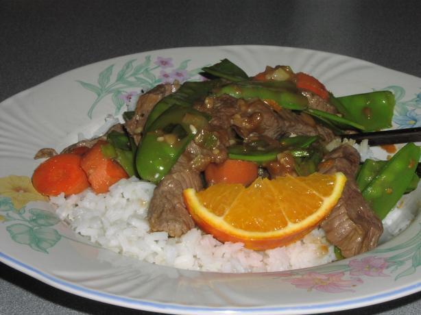 Orange Beef Ww