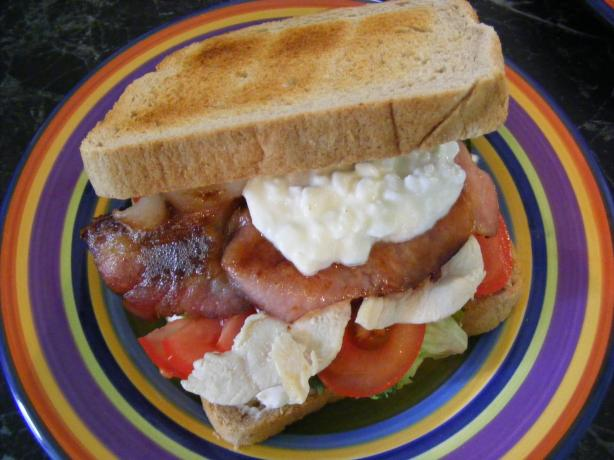 Chicken & Bacon Club (21 Day Wonder Diet: Day 19)
