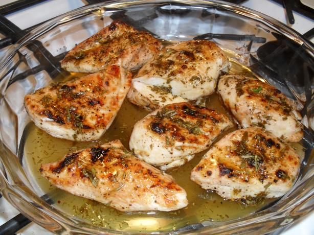Chicken With Orange Juice and Fresh Herbs