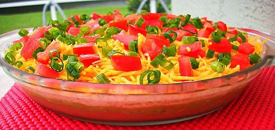 Tex-mex Layered Dip