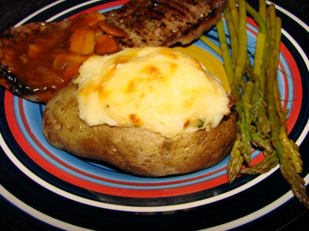 Double-Stuffed Potatoes